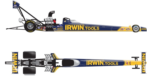 IRWIN Tools Top Fuel Doug Herbert