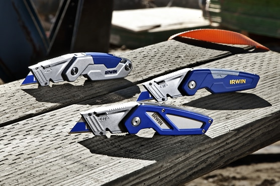 IRWIN FK Series Utility Knives with BladeLock Technology
