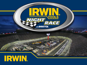 IRWIN Tools Night Race at Bristol Motor Speedway