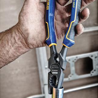 9 1 2 Quot High Leverage Lineman S Pliers With Fish Tape