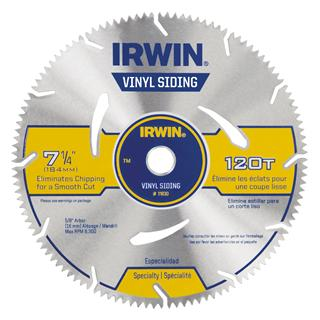 Vinyl Siding Saw Blade Tools Irwin Tools