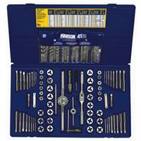 117-pc Machine Screw / Fractional / Metric Tap & Hex Die and Drill Bit Deluxe Set
