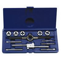 12-pc Fractional Tap & Hex Die Set