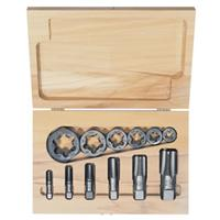 12-pc Hexagon Re-threading Die Sets (HCS) & (HSS)