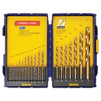 18-Piece Titanium Nitride (TIN) Bit Set