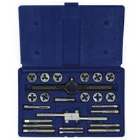 24-pc Fractional Tap & Hex Die Set
