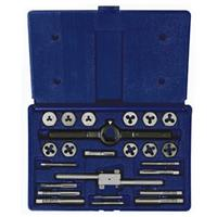 24-pc Metric Tap & Hex Die Set