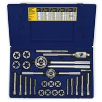 25-pc Fractional Tap & Hex Die Set