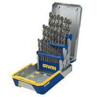 29 Piece Cobalt M-35 Metal Index Drill Bit Set