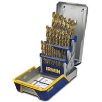 29 Piece Titanium Metal Index Drill Bit Set