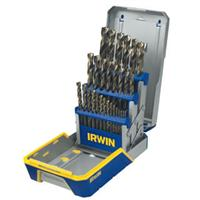 29 Piece Turbomax Metal Index Drill Bit Set