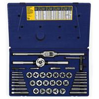 41-pc Fractional Tap & Adjustable / Solid Round Die Set