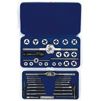 41-pc Machine Screw / Fractional Tap & Hex Die Set