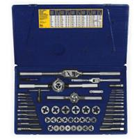 53-pc Machine Screw / Fractional Tap & Hex Die Set