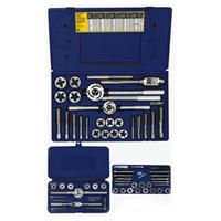 64-pc Machine Screw / Fractional Tap & Adjustable / Solid Round Die Set