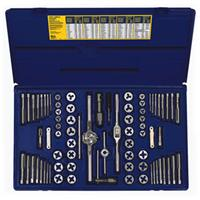 76-pc Machine Screw / Fractional / Metric Tap & Hex Die Set