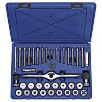 HANSON 40-Piece Metric Self Alignment Tap and Die Set