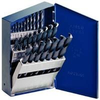 Heavy-Duty Black Oxide Coated High Speed Steel Drill Bit Sets