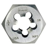 Re-threading Hexagon Taper Pipe Dies (HCS)