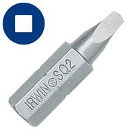 Square Recess Insert Bit - 1pc Design